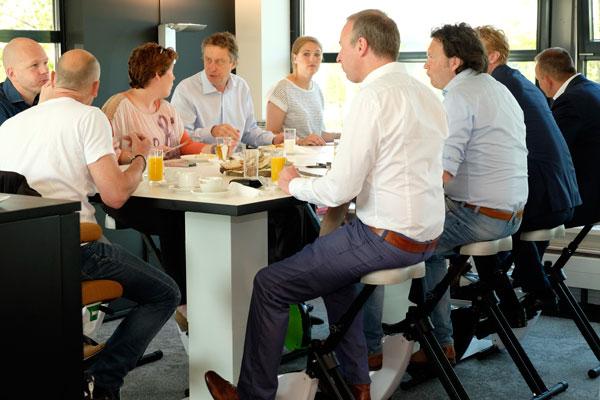 Eurodesk Ontbijtsessie Businessclub De Wetering Haarrijn
