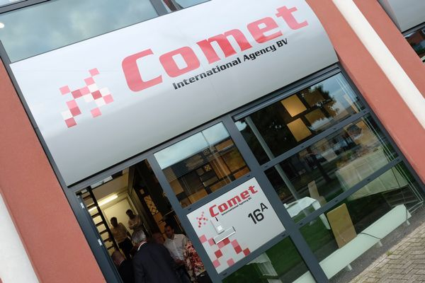 Fotoverslag Businessclub De Wetering Haarrijn Ontbijtbezoek Comet 7 september 2017